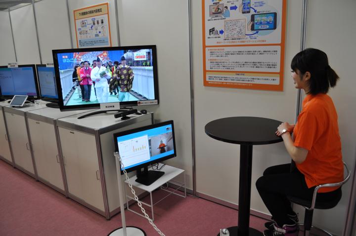 Система ТВ навигации NHK на основе распознавания лиц.