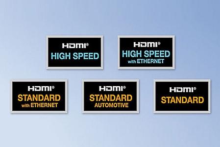 виды HDMI-кабелей