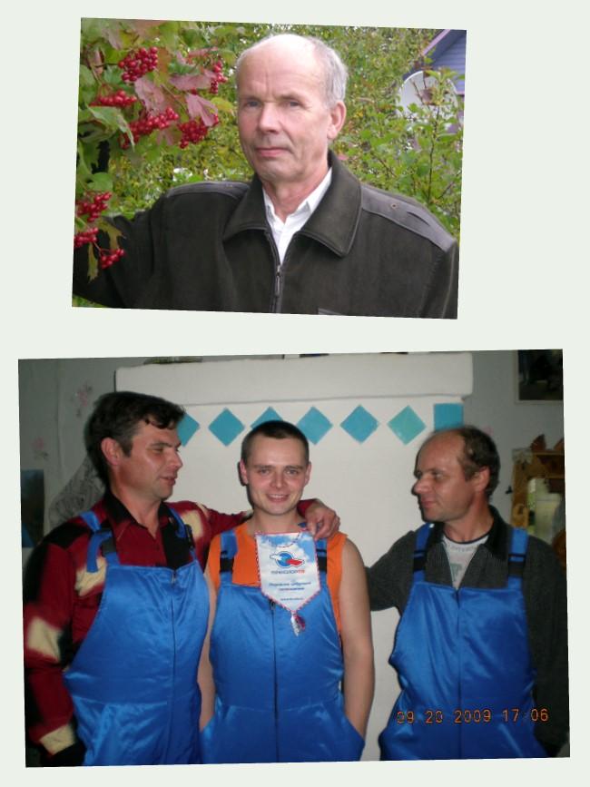 Владимир Фокин - победитель конкурса OBOB.TV  и его сыновья.