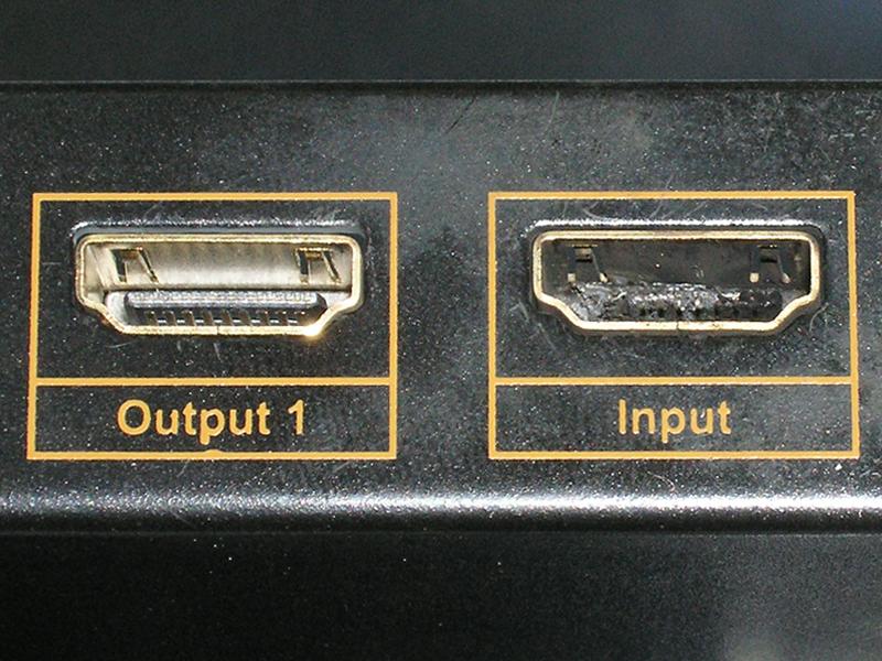 Исправный и выжженный HDMI порт. Почувствуй разницу.