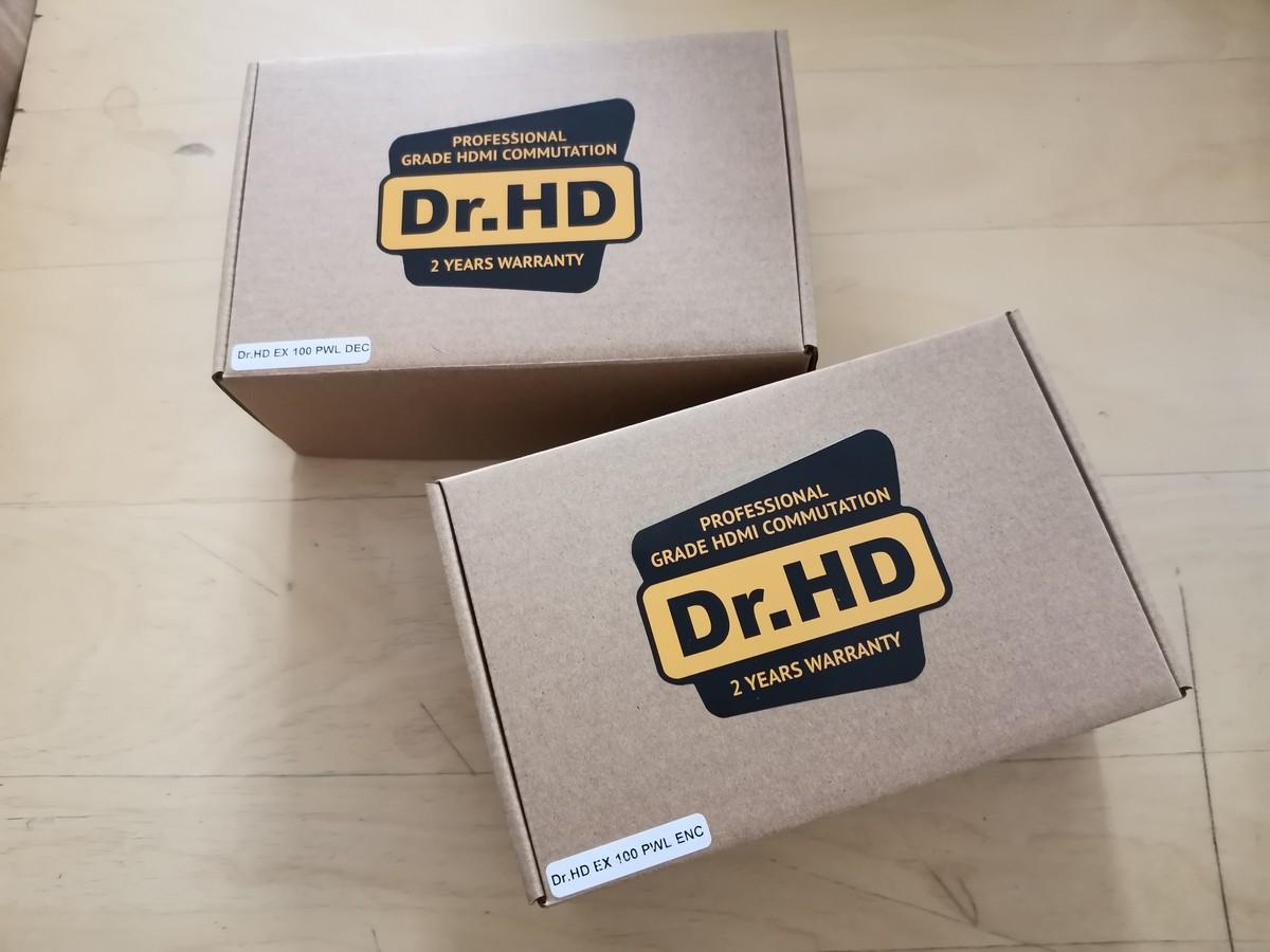 HDMI удлинитель по электросети Dr.HD EX 100 PWL
