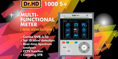 Вновь поступил в продажу универсальный измерительный прибор Dr.HD 1000 S+