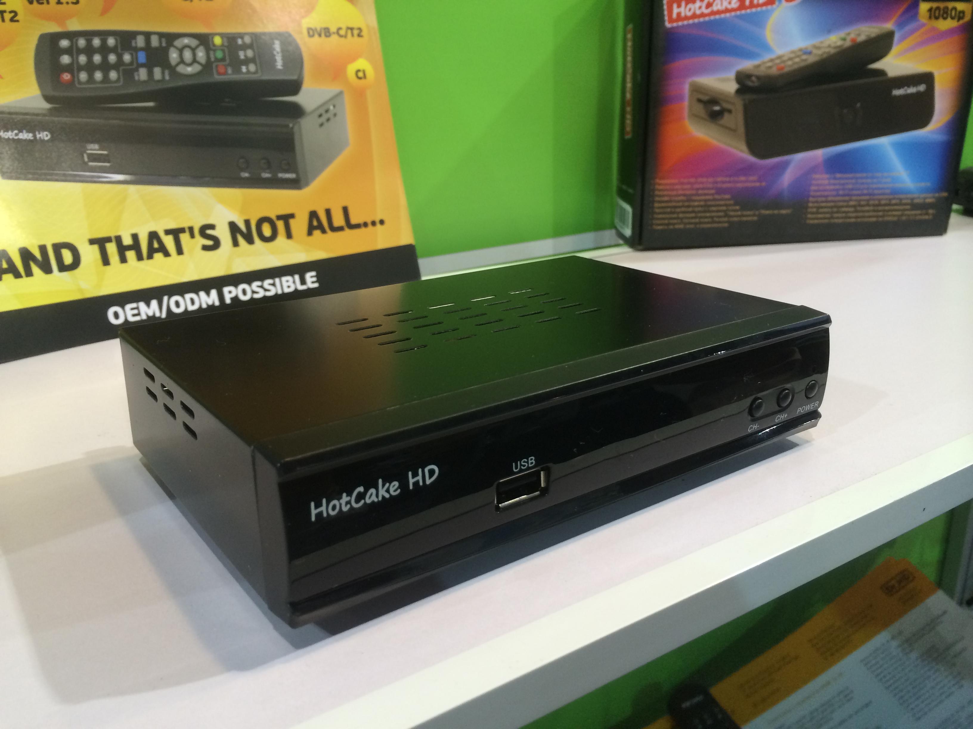 Ресивер HotCake HD LAN на выставке CES 2014