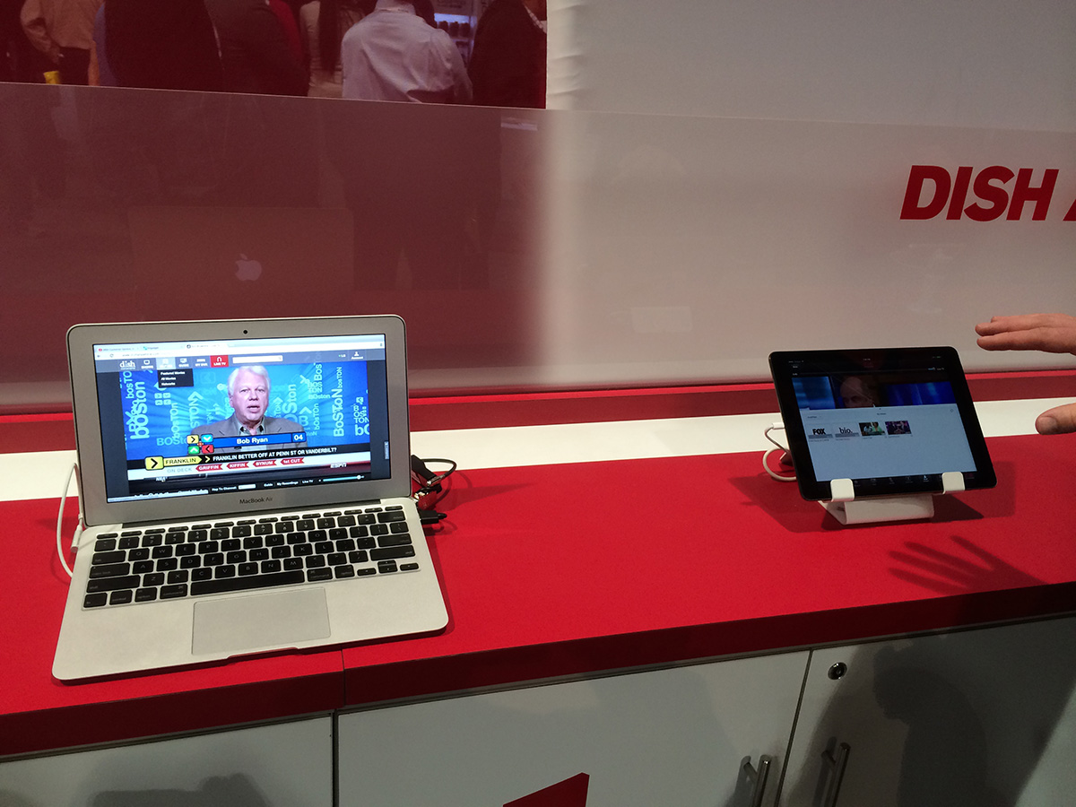 Спутниковые каналы Dish Network на ноутбуке