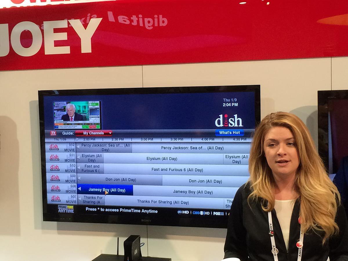 EPG ресивера Dish Network на выставке CES 2014