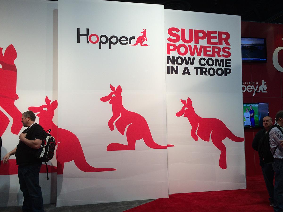 Hopper от Dish Network на выставке CES 2014