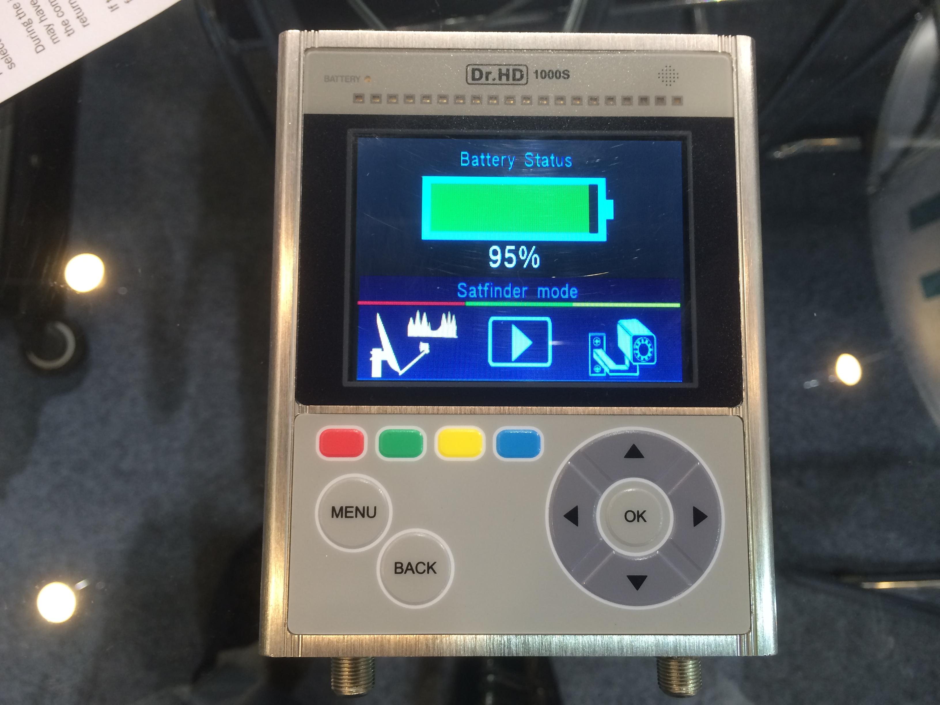 Новый измерительный прибор Dr.HD 1000S на выставке CES 2014