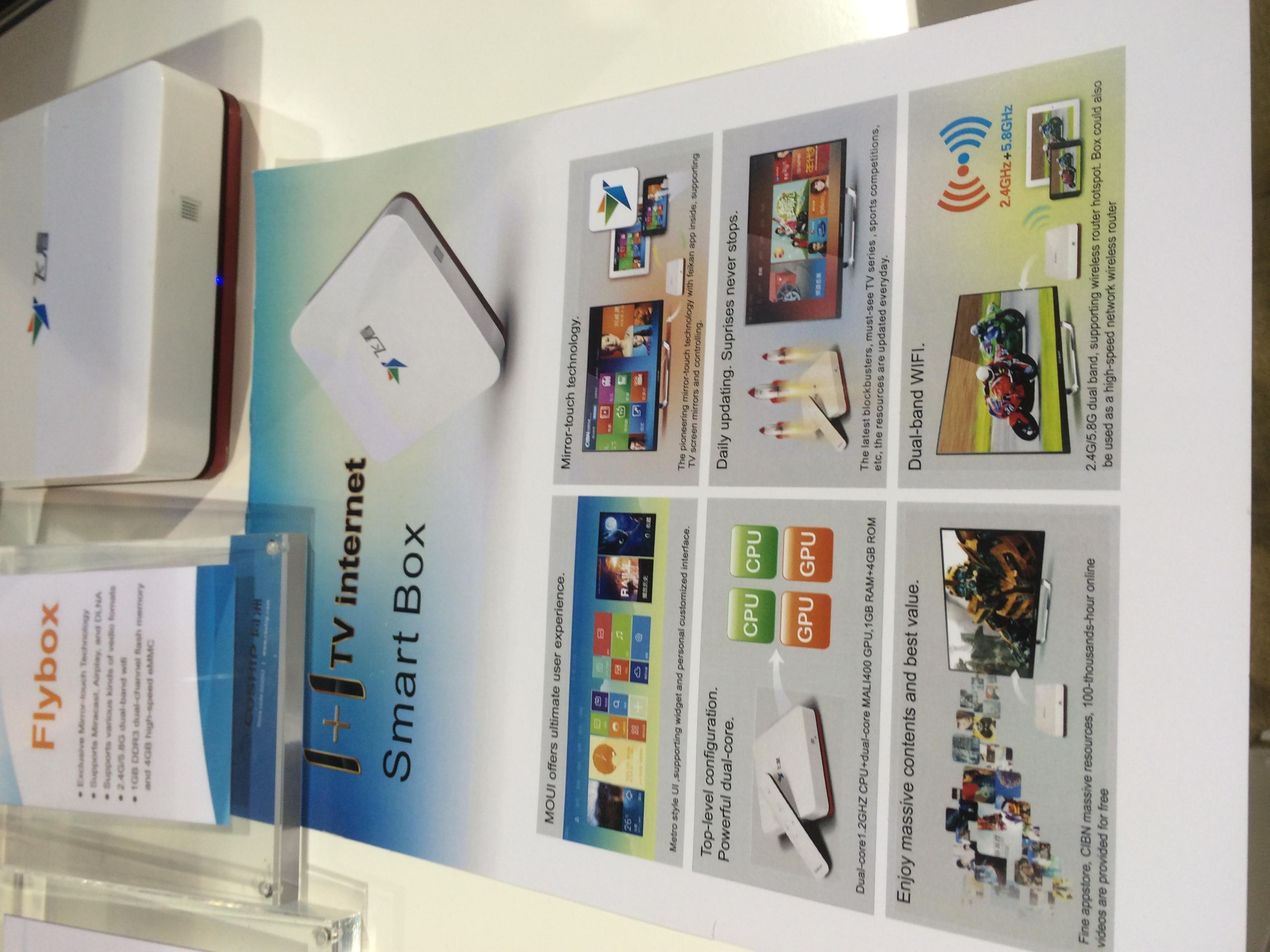 Стенд компании Coship на выставке CES 2014
