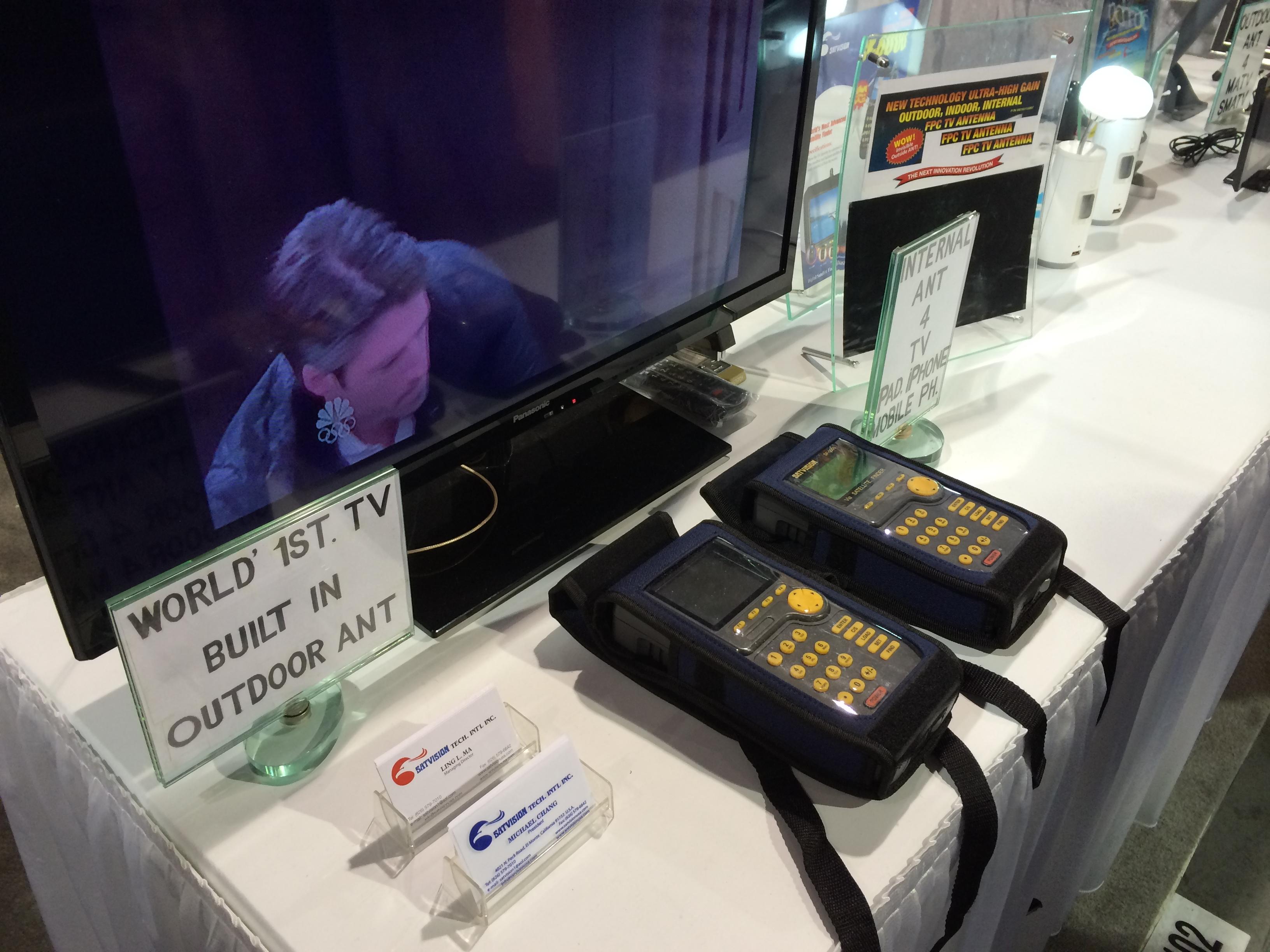 Измерительный прибор китайской компании на выставке CES 2014