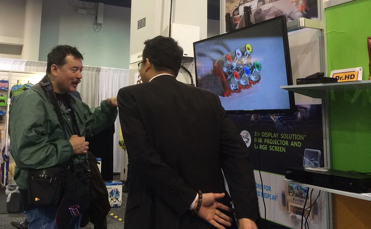 Стенд Dr.HD на выставке CES 2014