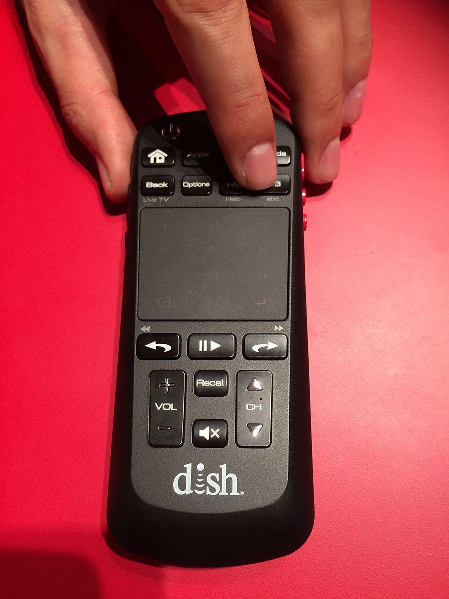 ИК пульты Dish Network на выставке CES 2015
